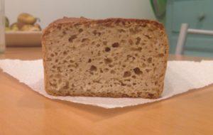 Pane senza glutine con pasta madre