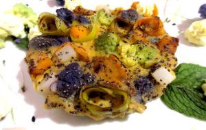 Clafoutis Salato d'Inverno – senza glutine e cotto al vapore