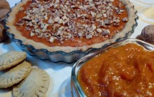 Crostata di albicocche e noci